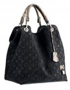 czarna torba LV...