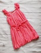 Sukienka wiosenna papaya s