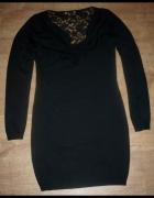 sukienka z koronką Orsay roz M