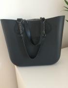 Obag mini czarna torebka