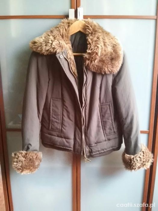 Odzież wierzchnia Zara kurtka zimowa