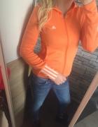 Neonowa pomarańczowa bluza Adidas