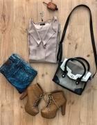 Koszula i jeansy