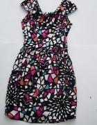 kolorowa sukienka ASOS
