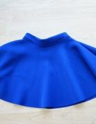 niebieska rozkloszowana pianka