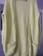Piękny Limonkowy sweter...
