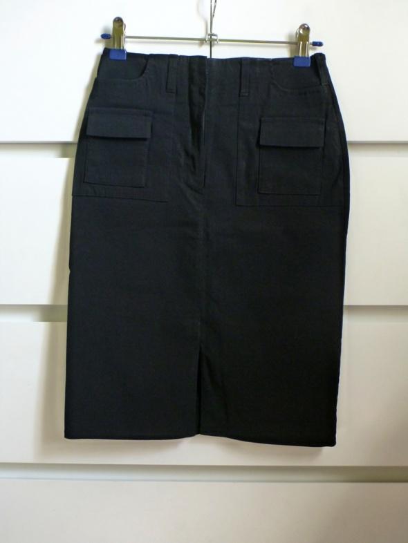 Spódnice sexy elegancka spódnica czarna ołówkowa basic Orsa