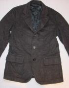 ARMANI szara marynarka płaszcz wool 46...