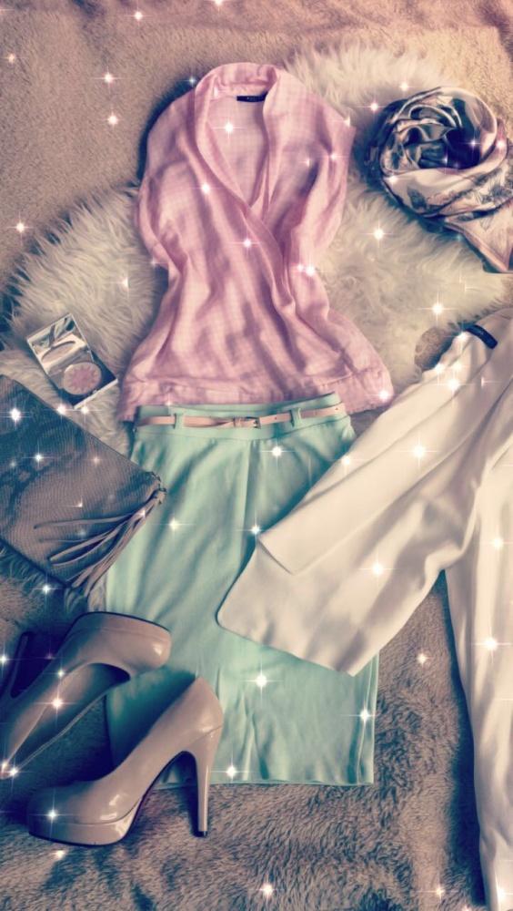 Mój styl Kobieco pastelowo wiosennie