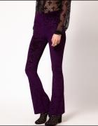 SISTER JANE welurowe legginsy we wzory paisley