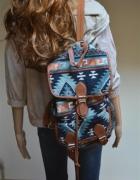 modny plecak aztecki Atmosphere