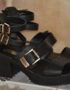 czarne buty sandały atmosphere 37 Limited