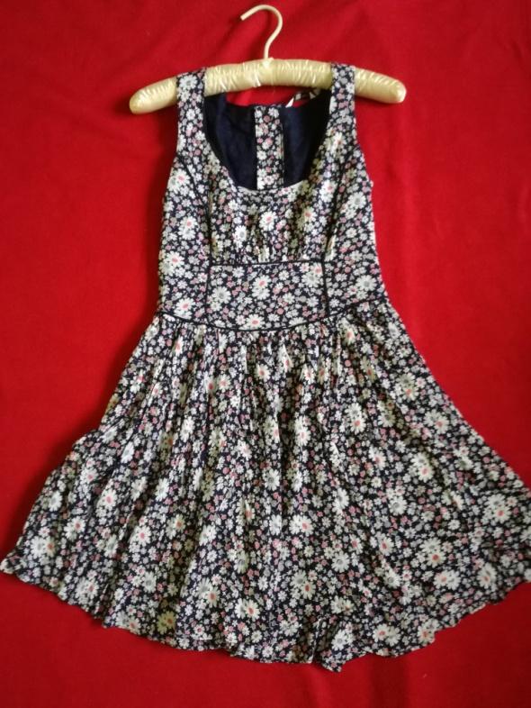 sukienka floral new look m zip