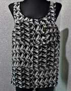 new look bluzka azteckie wzory zip 40