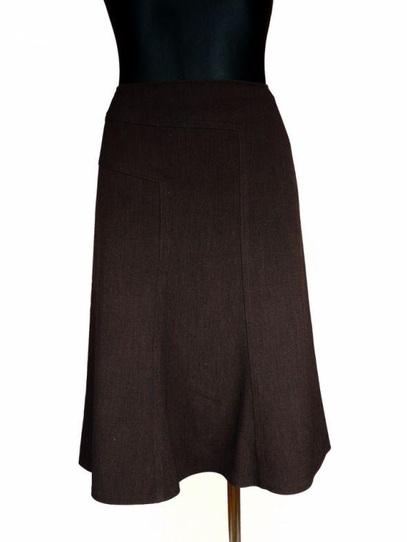 Spódnice spódnica brązowa 40