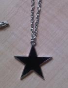 Długi naszyjnik z gwiazdą...