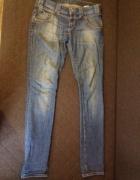 Spodnie cross rurki jeansy...