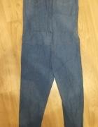 Kombinezon odcien jeansu