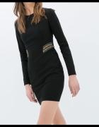 ZARA czarna sukienka