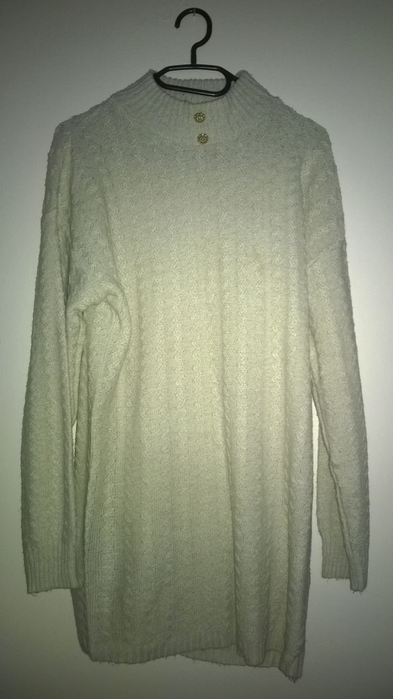 Suknie i sukienki Swetr sukienka