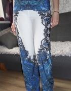 Rainbow śliczne spodnie z nadrukiem ornament 38