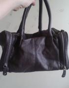 torebka do ręki szara