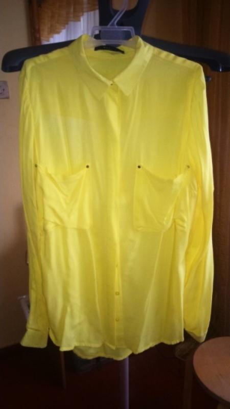 Koszule Żółta koszula Mohito