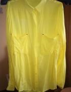 Żółta koszula Mohito