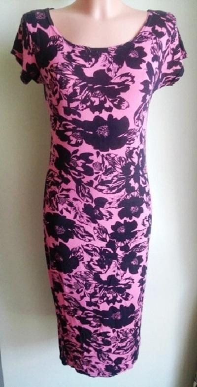 Sukienka ołówkowa midi w kwiaty Apricot 38 40