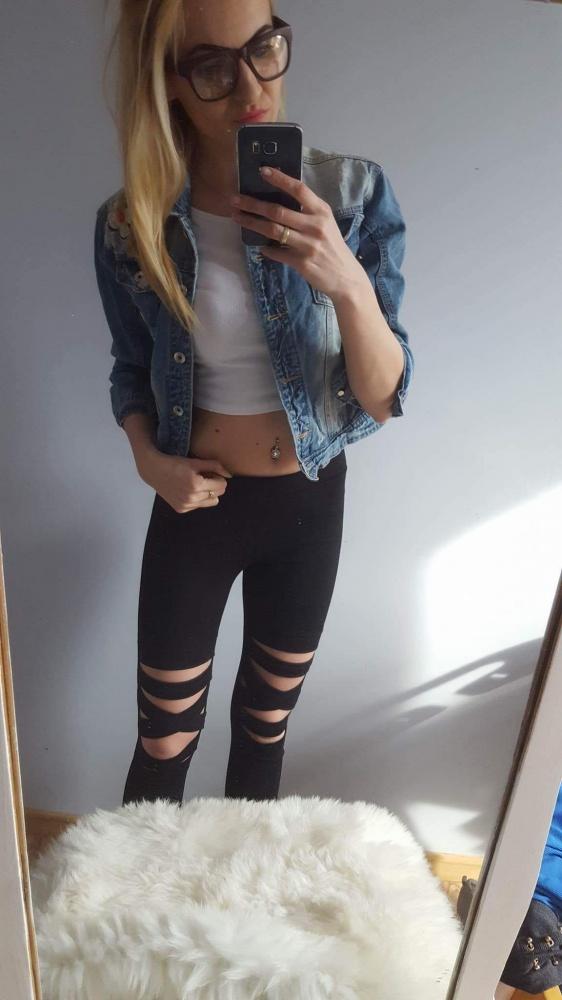 Spodnie NOWE MUST HAVE BANDAZOWE BLACK