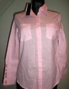 Zanzea Collection koszula damska jasny róż 36