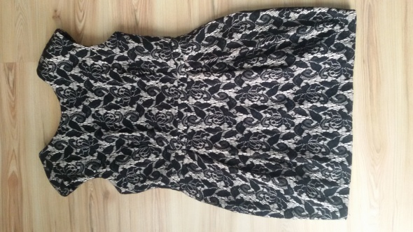 Suknie i sukienki sukienka koronką River Island 16