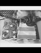 Spodenki z flagą Rozmiar XS