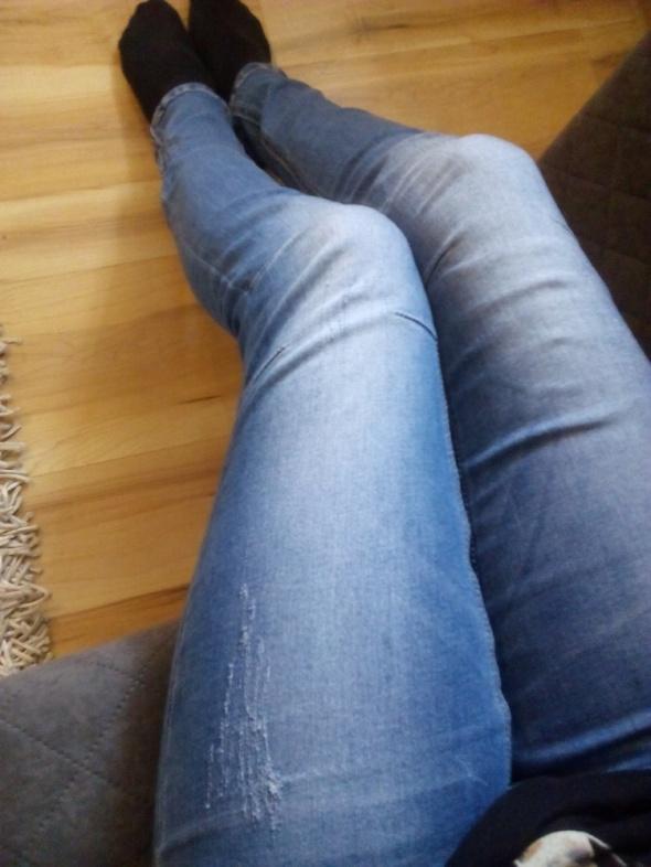 Spodnie modne jeansy xs tally wejl