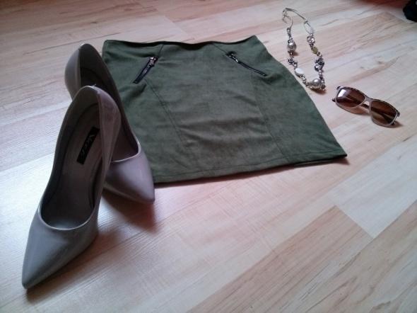 Spódnice Zielona Spódnica HIT