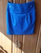 Niebieska spódniczka S