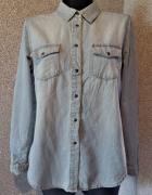 new look koszula jeansowa dżins jeans 42