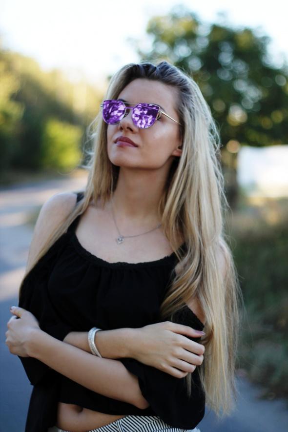 Mój styl Świat przez różowe okulary