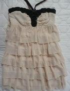 Sukienka w falbany
