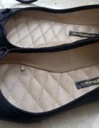Balerinki czarne Zara 39