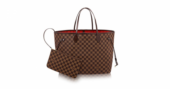 Dodatki Louis Vuitton NEVERFULL torba