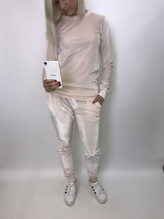 Codzienne velvet kompletny dres bluza spodnie superstar