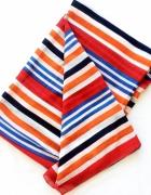 Duży szal chusta w paski Reserved