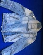 zara ramoneska kurteczka jeansowa 36
