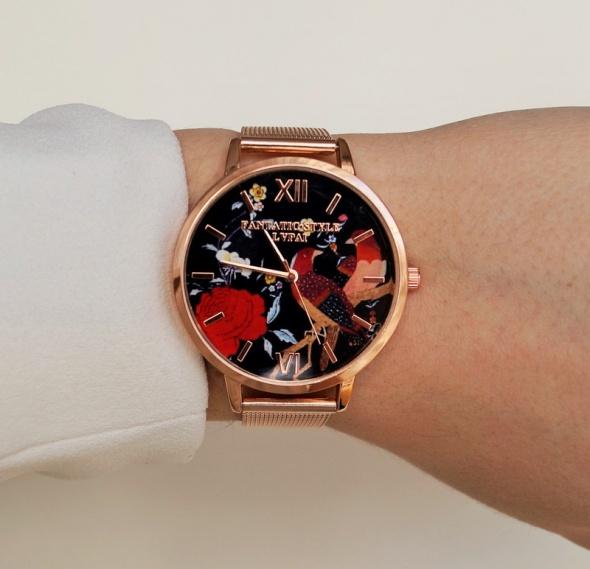 Zegarek bransoleta ptak