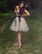 Tiulowa sukienka princess