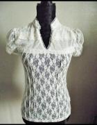 Koronkowa bluzka retro
