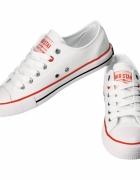 Białe trampki BIG STAR buty damskie...