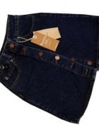 Spódnica jeansowa z guzikami roz S...