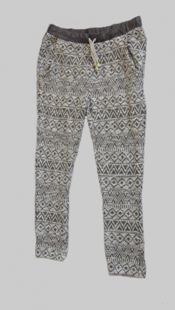 Spodnie i spodenki Szare spodnie Zara rozm 140cm